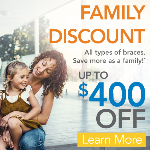 FAMILY DISCOUNT ORTHODONTICS OFFER